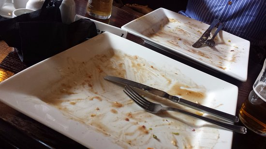 Eccleshall, UK: Would it have been rude to lick the plate.... :)