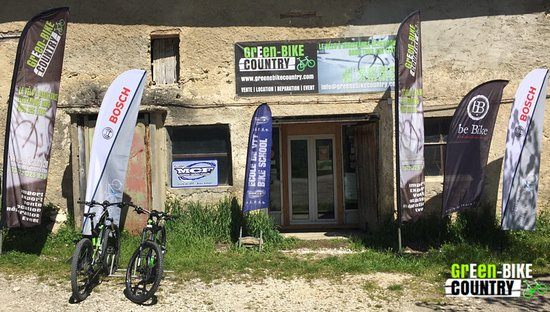 Saint-Nizier-du-Moucherotte, ฝรั่งเศส: Façade Green E-Bike Country