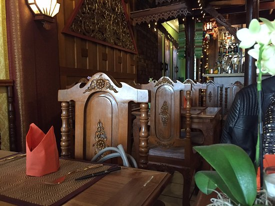 innenraum picture of restaurant chookdee thai wiesbaden tripadvisor. Black Bedroom Furniture Sets. Home Design Ideas