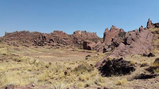 Portal de Aramu Muru: Formaciones rocosas