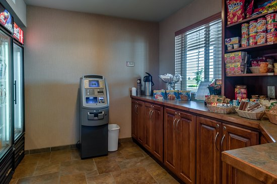 Liberty Lodge : ATM and Free Coffee
