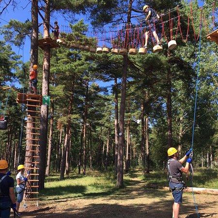 Ahus, السويد: Upzone Äventyrspark i Åhus