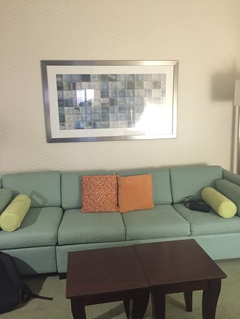 SpringHill Suites by Marriott Norfolk Virginia Beach: Nice hotel that is 20 minutes from the beach for a decent price