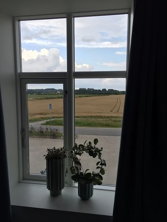 Jaegerspris, Danmark: Udsigten fra sengen