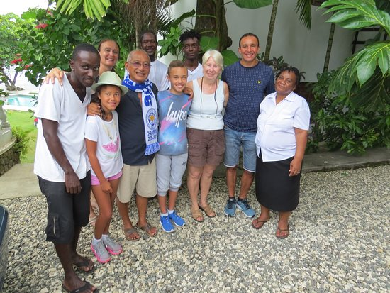 The Resort at Wilks Bay: James, Mary, Angela and the boys!