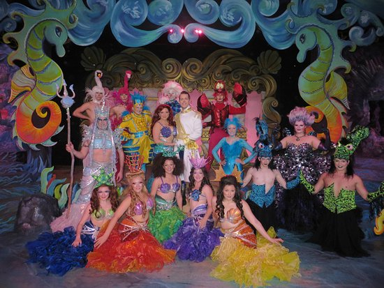 "Pagosa Springs Center for the Arts: Cast of the ""Disney's Little Mermaid"" musical, now playing at the Pagosa Springs Center for the"