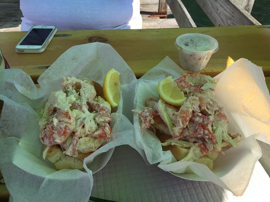 Boothbay Lobster Wharf... It's a keeper