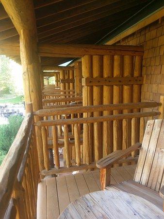 Mazama, WA: Balcony