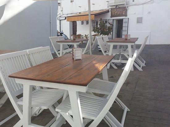 Bar El Ratito: Terraza Ratito Vejer