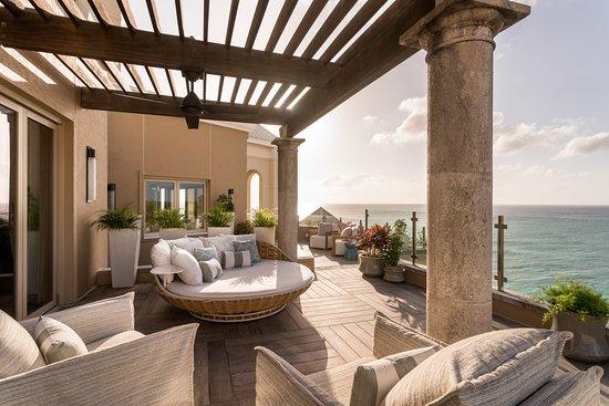 The Ritz-Carlton, Grand Cayman: Seven South Penthouse Master Terrace 1