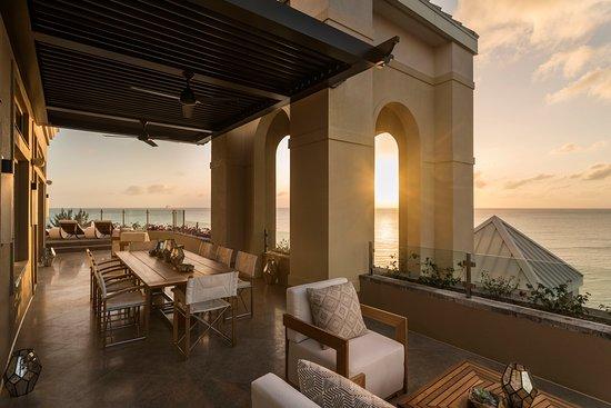 The Ritz-Carlton, Grand Cayman: Enjoy a Cayman Island Oasis on your Seven South Penthouse Terrace