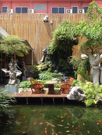 Villa Cha-Cha: Il ristorante dell'hotel