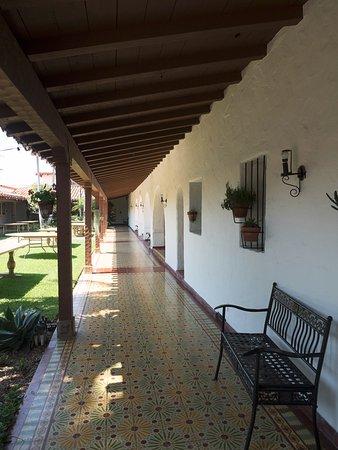 San Clemente, Kaliforniya: The inner courtyard.