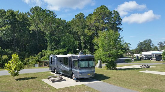 Cedar Key RV Resort: Our site #10