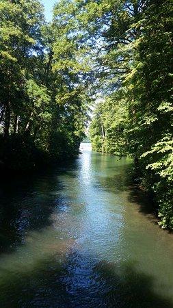 Joachimsthal, Germany: Wunderschöner Werbellinsee mit klarem Wasser.