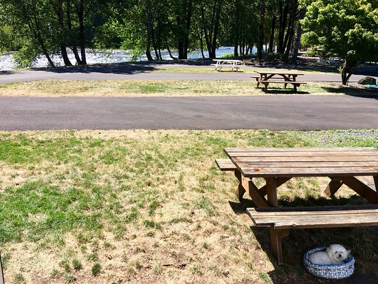 Westfir, OR: Beautiful River-front RV Park