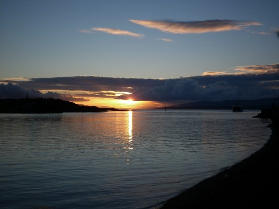 Appin, UK: Oban sunset