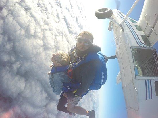 Sauter en Parachute: on est parti super