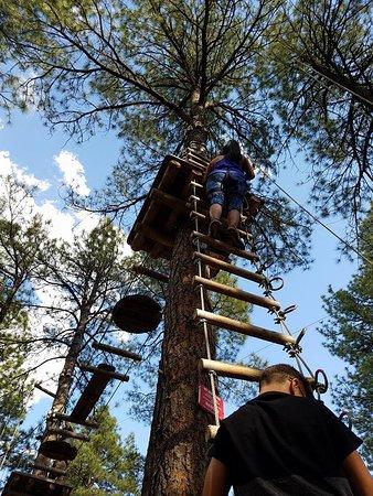 Flagstaff Extreme : Long climb up