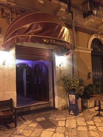 L aragonese brindisi restaurant avis num ro de for Aragonese cuisine