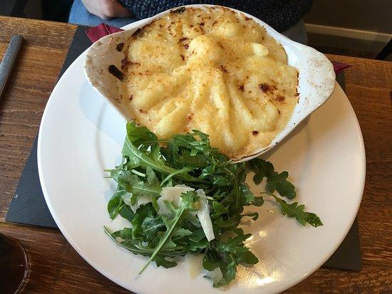 Rhyd Ddu, UK: A great restaurant over looking Snowdon