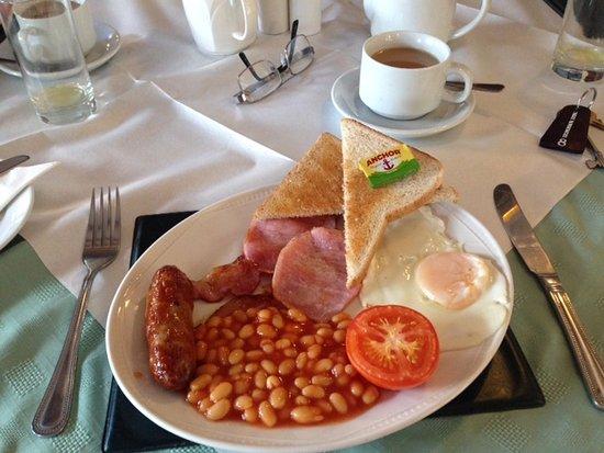 Drayton Parslow, UK: Breakfast