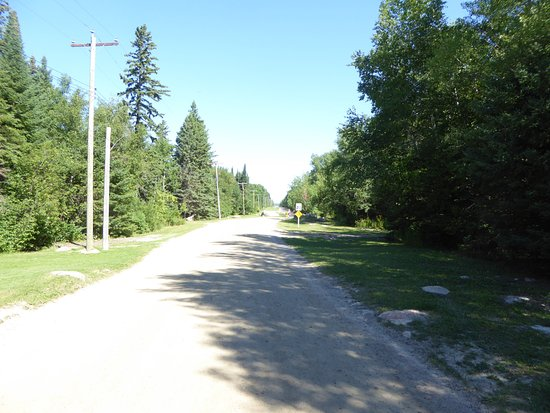 Victoria Beach Canada Roadway