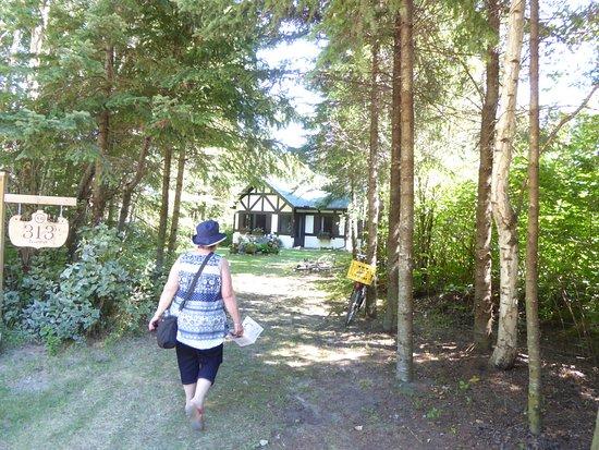 Victoria Beach, Kanada: Cabins in the woods