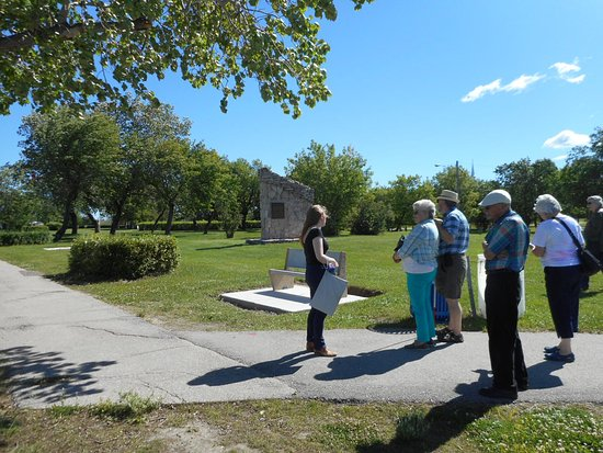 The Pas, Canadá: Our walking tour was comprehensive covered the town!