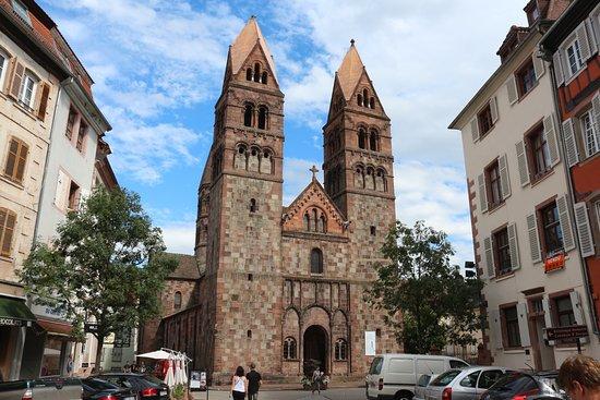Selestat, Prancis: bijzondere kerk