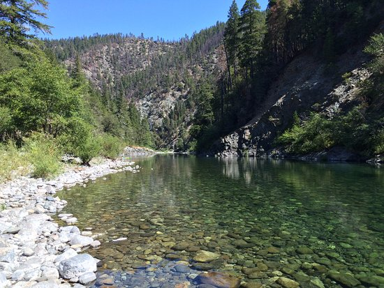 South Fork of Smith River at Sand Camp.