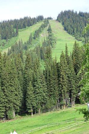 Sun Peaks, Canada: piste voor skiën, beperkte mogelijkheden