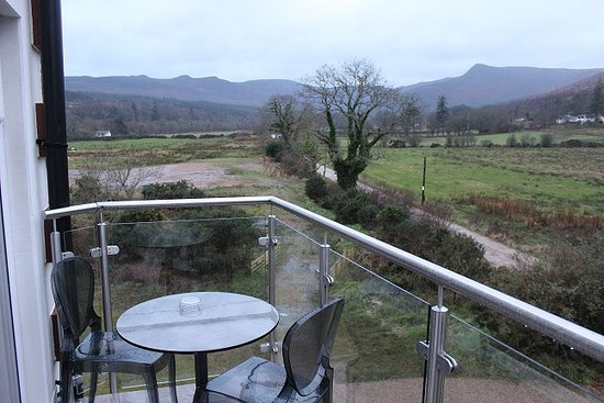 Auchrannie Spa Resort: Suite Balcony