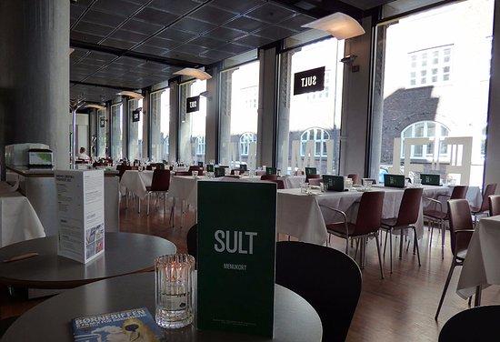 Restaurant Sult Cardapio E Interior