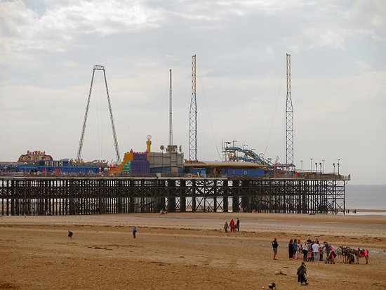 South Pier At Blackpool