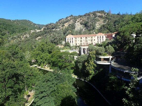 Molitg-les-Bains, França: The full James Bond setting...