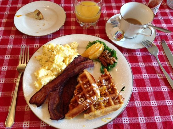 Lawrenceburg, KY: This was my divine gluten-free/dairy-free breakfast!!!