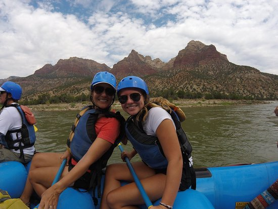 Adrift Adventures Dinosaur National Monument - Day Tours: We started our trip at Rainbow Park.