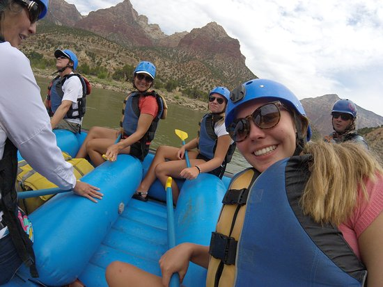 Adrift Adventures Dinosaur National Monument - Day Tours: A GoPro is a fun thing to bring.