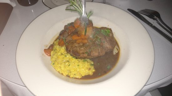Irene's Cuisine: Osso Bucco with risotto