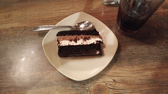 Carberry, Canada: Chocolate Mousse Cake; awesome!