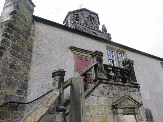Burntisland Parish Church: Steps to the Sailors Gallery
