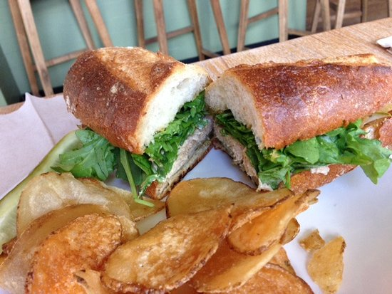 Kittery, ME: Italian Tuna Salad Sandwich & Chips