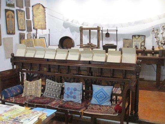 Paper making exhibit, Casa Andalusi