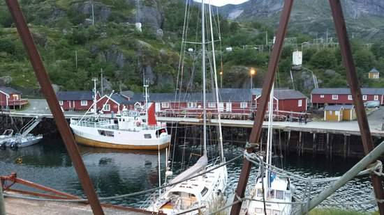 Lofoten Islands, Norwegen: Nusfjord Fishing Village