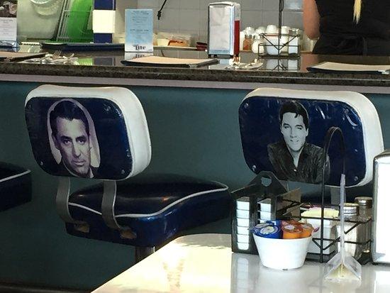 San Clemente, Kaliforniya: The diner is full of nostalgia.