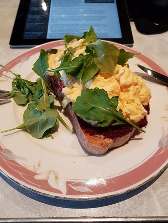 Machine Laundry Cafe: One of the breakfast options