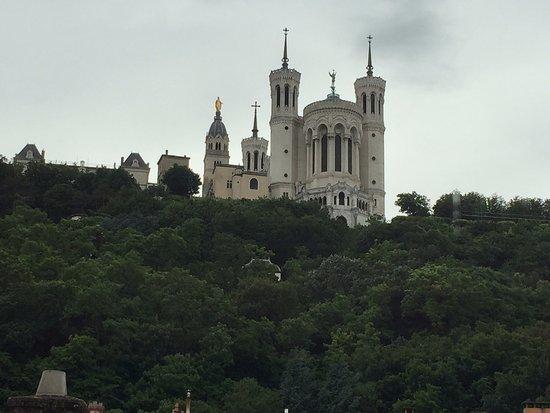 Apart'Observatoire Saint Jean: View from the kitchen window.