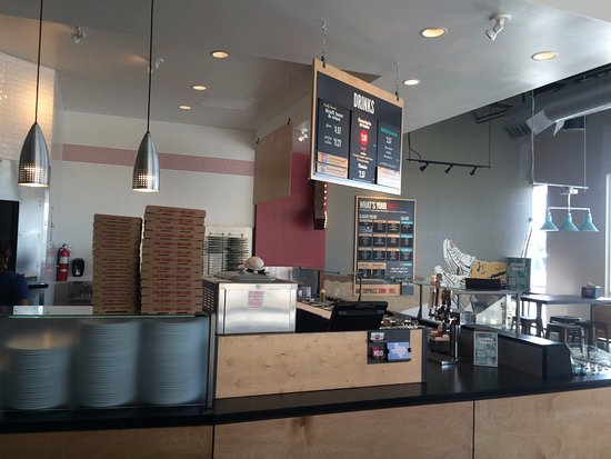 Pasadena, TX: Order, Payment and Pickup Counters.