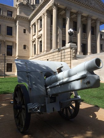 Jackson, MS: Old cannon